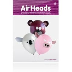 Each animal consists of a balloon on a wand, plus pre-cut colour features which are attached with sticky pads. Also included are colour stickers for eyes and features.