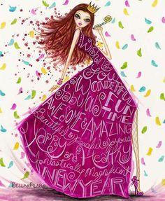 """Wishing you a fantastically magnificent 2015!"" © Bella Pilar Studio"