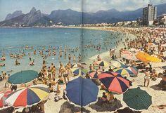 Imagens do Rio Arpoador 1954