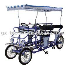 surrey bike surrey cycles four wheel bikes 4 person. Black Bedroom Furniture Sets. Home Design Ideas