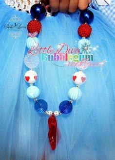 Dorothy Inspired Chunky Bubblegum Bead by LittleDivaBubblegum, $24.00