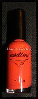 Nailtini Straight Up Color Nail Lacquer In Mai Tai