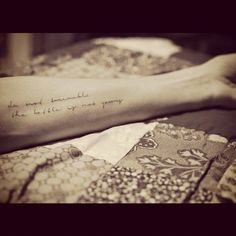 do not tremble; the battle is not yours (*Deuteronomy 20:3 & 2 Chronicles 20:15)  tattoo :: script :: bible verses *tattoo wishlist