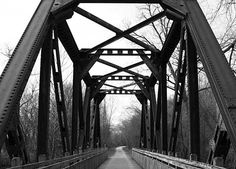 love old bridges. Love Photography, Black And White Photography, Black And White Challenge, Love Bridge, Eyes Watering, Old Bridges, Black And White Abstract, Black White, Construction