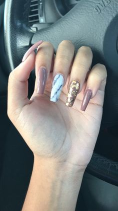 In seek out some nail designs and ideas for the nails? Here's our list of 15 must-try coffin acrylic nails for trendy women. Aycrlic Nails, Coffin Nails, Hair And Nails, Gorgeous Nails, Pretty Nails, Cute Nails, Special Nails, Elegant Nails, Best Acrylic Nails