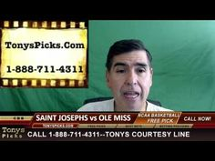 St Josephs Hawks vs. Mississippi Rebels Pick Prediction College Basketba...