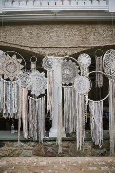 dreamcatcher boho wedding decoration ideas #bohoweddings #weddinginspiration #weddingthemes #weddingdecors #weddingideas