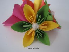 origami kukka