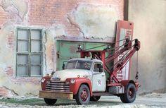 AMT Texaco 1950 Chevy 3100 Wrecker Truck 1/24 1/25 for Junkyard Diorama #AMT