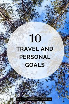 Skydiving, snorkelling, backpacking Europe, and more — I share with you a list of my 10 travel and personal goals for 2016. Perhaps this post will convince you to make these activities your goals too!