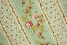 LENGTH FOUR Vintage French material lovely tones ! c1950