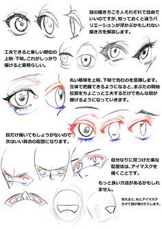 「胸の描き方と表情、髪型の描き方講座」/「ほ~さく」の漫画 [pixiv]