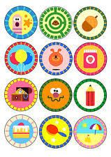 printable cake toppers hey duggee - Google Search