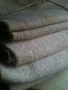 french antique heavy linen towels...tongue in cheek antiques...french brocante online...