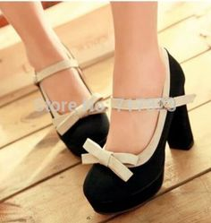 Cheap Pumps on Sale at Bargain Price, Buy Quality high heel shoes fashion, shoes kids shoes, high heel casual shoes from China high heel shoes fashion Suppliers at Aliexpress.com:1,Model Number:Europe 34-43 2,fashion element:shallow mouth, colorant match, thick heel 3,Shoe Width:Medium(B,M) 4,women's platform shoes pattern:color block decoration 5,Toe Shape:Round Toe