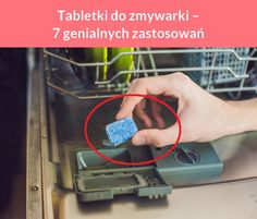 Tabletki do zmywarki – 7 genialnych zastosowań Diy Cleaners, Diy And Crafts, Tips, Origami, Household, Origami Paper, Origami Art, Counseling