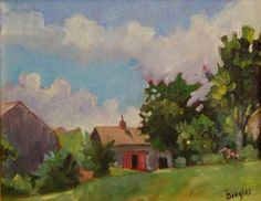 Medomak River Land Trust, Old Farmstead. Contact Camden Falls Gallery for details.