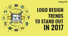 Brand logo has to look trendy all the time, get familiar with top logo design trends that will keep you stand out in 2017 with an interactive Infographic