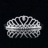 Nouvelle couronne de mariage mariée
