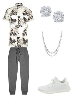 """""""Dope Outfit"""" by sonictheincrediblefox on Polyvore featuring River Island, Yeezy by Kanye West, Polo Ralph Lauren, Effy Jewelry, David Yurman, men's fashion and menswear"""
