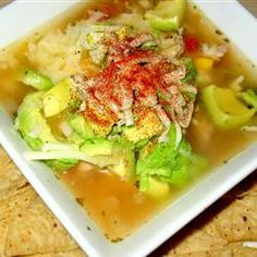 """Zeke's Tortilla Soup 