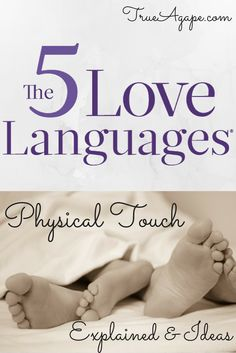 Is your spouse's primary Love Language Physical Touch? IT IS OK! It does not mean your spouse just walks around wanting and thinking about sex ALL THE TIME! Today, I am going to explain some things about physical touch, but also give some ideas on how to incorporate them into your daily life. Explanation: Babies who […]