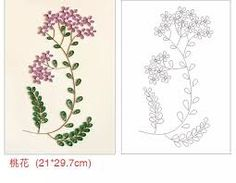 「paper quilling patterns free pdf」の画像検索結果