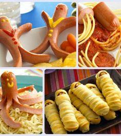 Recetas para niños: 4 recetas con salchichas muy divertidas