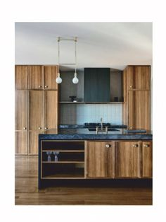 Luke Fry Architects And Interiors Puts A New Spin On Art Deco The Design Files – Art Deco Curves Meet Clean Lines In This Sleek Melbourne Home. Cocina Art Deco, Casa Art Deco, Art Deco Kitchen, Art Deco Home, New Kitchen, Kitchen Decor, Kitchen Ideas, Awesome Kitchen, Timber Kitchen