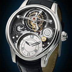 Montblanc - Collection Villeret 1858 – Tourbillon Bi-Cylindrique watch