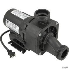 "Pump, Bath, BWG Gemini Plus II, 1.5hp, 115v, 1-1/2"",w/Switch"