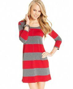 Jessica Simpson Rudy Animal-Print Dress