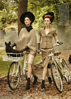 Oh! This look on the right would be perfect with our chambray