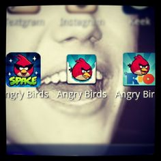 Im obsessed with  #AngryBirds hahaha  EXCELLENT COOL