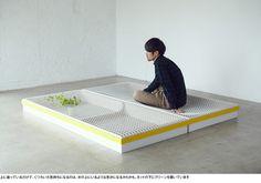 1.06フロア-二本脚でテーブルが立つ!? 立つんです、ジグザグにすると。|イチロのイーロ オンラインストア
