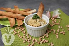 Recept na veganský hummus - Zelené Menu