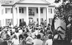 student gathering in the 1970s by clemsonunivlibrary, via Flickr