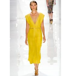 Derek Lam's clean lines were inspired by Neutra's mid-century modern Kaufmann House, located in Palm Springs.