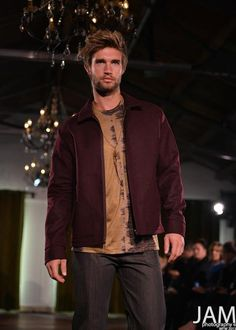 a collection that was shown at NZ fashion week  i really like the style he has and the way is hair is a going out fancey look