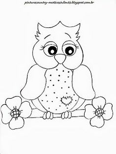 So Cute Owl For Coloring