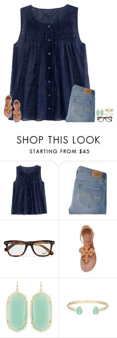 """ayeee"" by secfashion13 ❤ liked on Polyvore featuring mode, J.Crew, Abercrombie & Fitch, Ray-Ban, Tory Burch, Kendra Scott et Kate Spade"