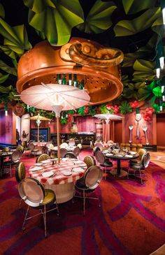 You can dine inside the restaurant that Remy opens in Pixar's Ratatouille!