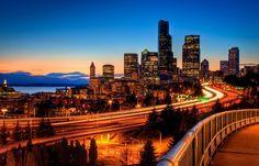 12th Street Bridge Sunset HDR by Fresnatic, via Flickr