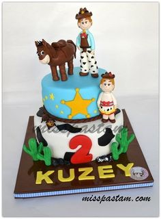 Birthday Cake Cowboy Party, Cowboy And Cowgirl, Baby Wedding, Wedding Cakes, Birthday Fun, Birthday Ideas, Birthday Cakes, Cowboy Cakes, Movie Cakes