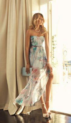 Floral flow dress