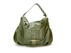 Big Buddha Green Hobo Bag/ Slouchy Purse
