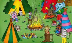 """In Puschki & family's Band """"Die wilden 13 im Indianerstamm"""" geht es um die Abenteuer des kleinen Braunbären Puschki und seiner Familie. Puschki und seine Geschwister erleben die kuriosesten Abenteuer....."""