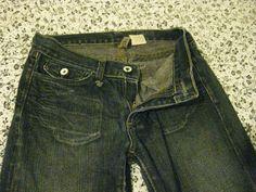 ROGAN - Made in USA - Boot Cut Blue Jeans - Men Size 26 x 30 #Rogan #BootCut