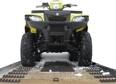 Caliber Products Grip Glides for Tilt Trailer 13350 by Caliber. $50.20. Innovative accessory helps you load a snowmobile or ATV onto a 10ft tilt trailer Design features grips for ATV wheels and a glide pattern to suspend snowmobile wear bars for easy loading Comes with 22 pieces, enough for one side of a 10ft tilt trailer; two sets will complete both sides