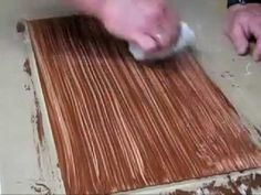 Perfect for the floorings of the dollhouse  Faux Wood Floor on MDF